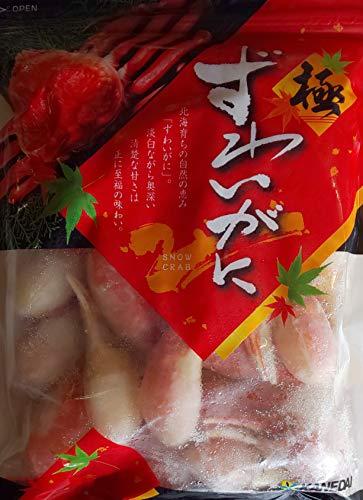 特大 ボイル 本ずわい蟹 爪ポーション ( 2本爪 ) 1kg ( kg21-30本 ) 業務用 本ズワイ かに