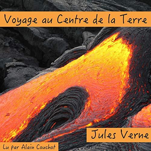 Voyage au Centre de la Terre audiobook cover art