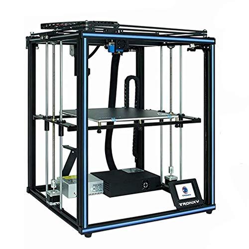 X5SA 3D Drucker TRONXY DIY Hochpräziser industrieller 3D Printer geräuscharme Riemenscheibe, Materialbrucherkennung, automatische Nivellierung mit einer Taste, Zweiwege-Kühlungsdesign