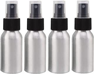 Furnido 1.72oz Aluminium Essential Oil Spray Bottle Refillable Perfume Fine Mist Atomiser Empty Beauty Metal Spray Bottles...