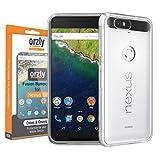 Orzly - Coque FUSION Bumper Case pour HUAWEI NEXUS 6P SmartPhone (2015 Modèle - 5,7...