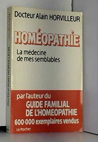 Homéopathie, la medecine de mes semblables 041897
