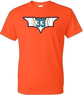 Orange New York Matt Harvey Dark Knight T-Shirt