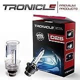 Tronicle Premium Set Xenon quemador con certificado E en la intensidad de luz de 4300 Kelvin hasta 8000 Kelvin D2S Sky Blue 8000 Kelvin