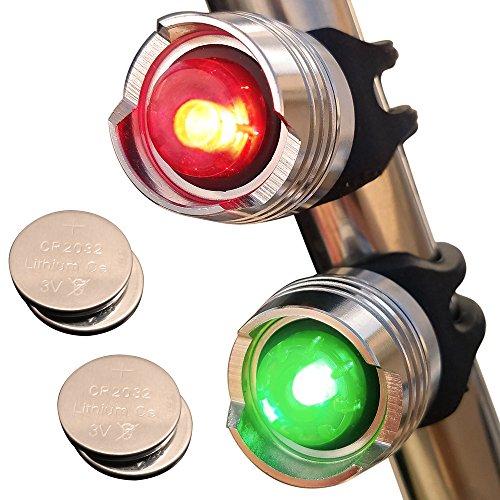 Bright Eyes Green & Red Aluminum Portable Marine LED Boating