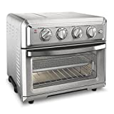 stainless steel Cuisinart TOA-60 convection toaster oven air fryer
