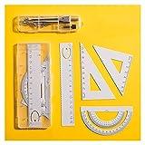 XILIN-1987 Geometría Set Brújula Matemáticas Geometría Brújula Dibujo Brújula para Dibujo Inicio Suministros Escolares Acero Inoxidable Brújula
