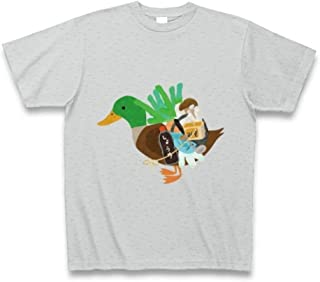 (クラブティー) ClubT 可愛いカモネギマスター Tシャツ Pure Color Print