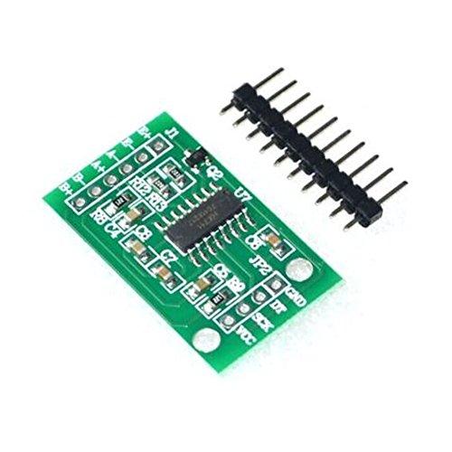 HALJIA HX711 Sensor de presión de pesaje célula de carga de módulo de doble canal de 24 bits de precisión AD Compatible con Arduino