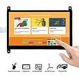 OSOYOO 7 インチ TFT タッチ スクリーン | DSI コネクタ | LCD ディスプレイ モニター | 800×480 解像度 | ラズベリーパイ 2 3 3B+ raspberry pi 4 用