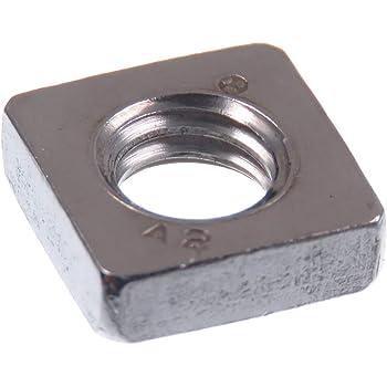 - M5 - Standard Ausf/ührung - DIN 557 Vierkantmuttern SC557 SC-Normteile/® - Einlegemutter Edelstahl A2 20 St/ück V2A