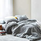 Byourbed Coma Inducer Oversized King Comforter - Teddy Bear - Silver Gray