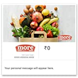 More Insta Gift Voucher shall have a validity of minimum 6 months. This Insta Gift Voucher (GV) would be accepted only at listed outlets of More Retail Limited. (For Outlet List, please visit gyftr.com/More). This GV cannot be redeemed online. More G...