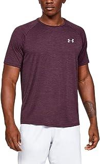 Under Armour 安德玛 男式 Tech 2.0 短袖T恤,轻质透气运动T恤,防臭技术健身服