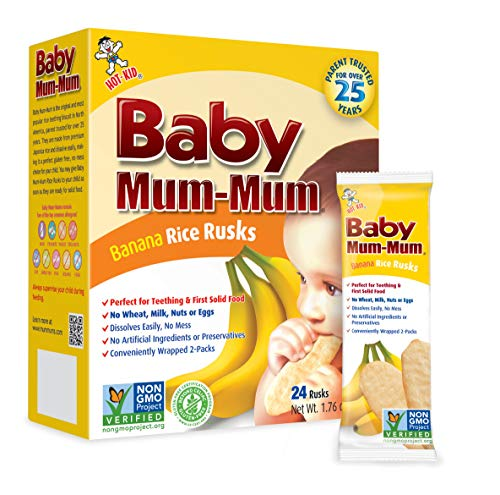 Hot-Kid Baby Mum-Mum Rice Rusks