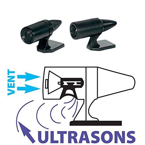 2 silbatos ultrasonidos para ahuyentar animales, para coche 4 x 4 -1388