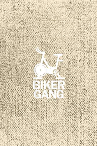 Biker Gang Funny Spin Saying Gym Workout Spinning Class Self Care Acts Planner: 6 x 9 inches size and 114 pages