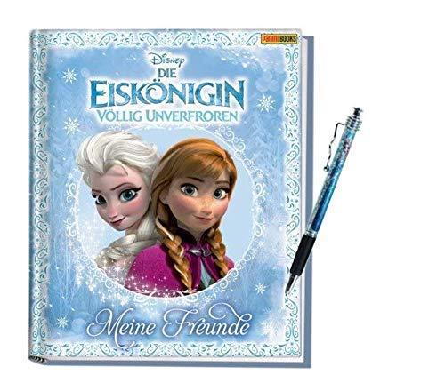 Panini Verlag DIE EISKÖNIGIN - Meine Freunde: Völlig unverfroren Freundebuch (Mädchen ab 5 Jahren) + 1. Frozen Kugelschreiber