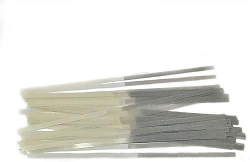 Dental Polishing Strips Polyester 2.5 MM Fine Grit (One Side) 100/Package