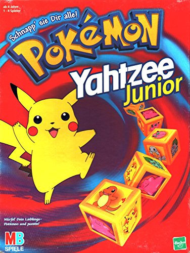 Hasbro 41403100 - Pokémon Yatzhee Junior