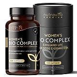 Integratore Probiotici Donna Vegano - Flora Intima - 120 capsule vegane - 5 ceppi...