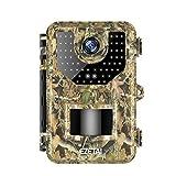 EZETAI Wildkamera mit Bewegungsmelder Nachtsicht,20MP 1520P HD Jagdkamera mit 48pcs 940nm No Glow LEDs und IP66 Wasserdicht,Wildtierkamera für Jagd Und Tierbeobachtung Haussicherheitsü Berwachung