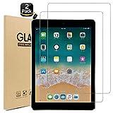【2枚セット】Miruchertter iPad 9.7 フィルム iPad Pro 9.7 / Air2 / Air/New iPad 9.7インチ 強化ガラス iPad 2018 2017 液晶保護ガラスフィルム 第6世代 高透過率 気泡ゼロ 硬度9H (9.7インチ,2枚セット)