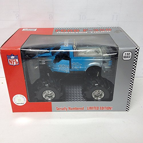 Carolina Panthers Limited Edition Ford F-150 Monster Truck 1:32 Scale