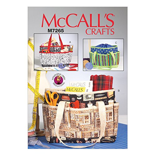 McCall's Patterns M7265 Project Totes, One Size