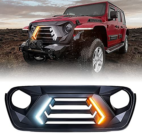 Top 10 Best jeep wrangler front grill Reviews