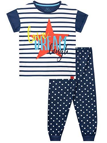 Harry Bear Mädchen Schlafanzug Liebe, Traum, Lachen Blau 146