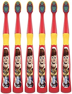Oral-B Toy Story Kids Toothbrush for Little Children 3+ Years Old, Extra Soft - Pack of 6