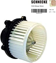 Schnecke Front AC Heater Blower Motor Fits select KIA(04-09 SPECTRA)(05-09 SPECTRA5) replaces 971132F000