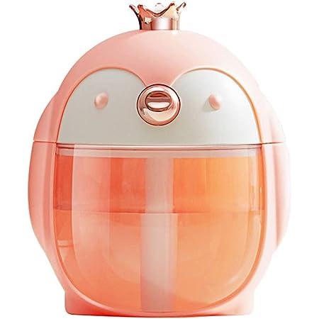 For Car Office Room LED Mini Humidifier Cute Essential Diffuser C1A5 Oil D3P0