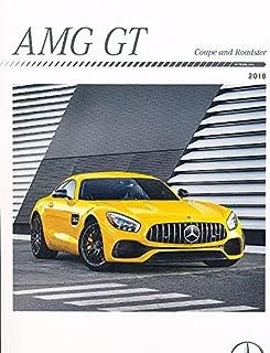 2018 Mercedes Benz AMG GT GTR GTC GTS 40-page Car Sales Brochure Catalog