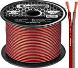 InstallGear 16 Gauge Speaker Wire Cable, 100 feet