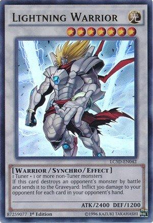YU-GI-OH! - Lightning Warrior (LC5D-EN042) - Legendary Collection 5D's Mega Pack - 1st Edition - Ultra Rare