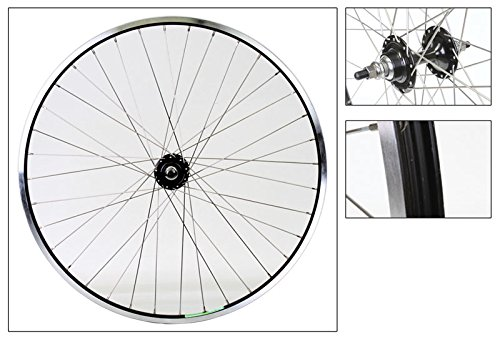 Wheel Master Weinmann LP18 Rear Wheel - 700c, 36H, Fixie/Freewheel, Black/Black/Silver