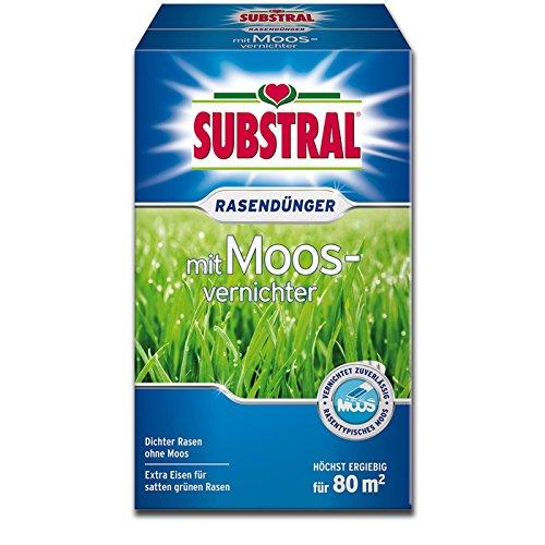 Preisvergleich Produktbild Substral 8473 Rasendünger mit Moosvernichter,  2, 8kg für bis zu 80 m²