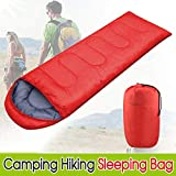 Yaheetech Single Adult Sleeping Bag Lightweight Envelope Rectangular Sleeping Bags with Carry Bag