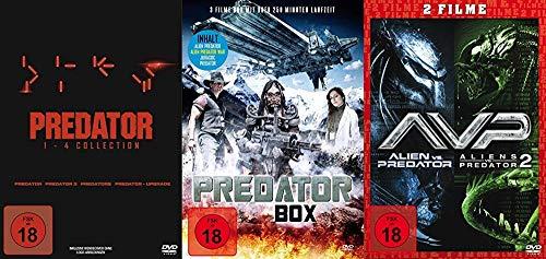 Predator – Mega Collection – Teil 1 2 3 4 + Alien vs. Predator 1 & 2 + Bonus 7 DVD Edition