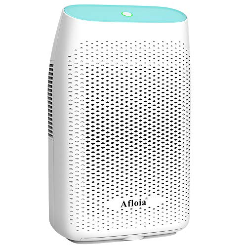 Afloia Electric Dehumidifier for Home Bathroom 70 oz ,Portable Dehumidifiers for Home 2500 Cubic Feet Space,Quiet Auto-off Deshumidificador for Kitchen,Bedroom,Basement,Bedroom,Closet