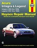 Acura Integra (90-93) & Legend (91-95) Haynes Repair Manual (Haynes Manuals)