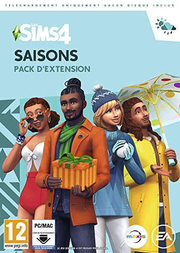 Les Sims 4: Saisons (Add-On) (Code in a Box) (French)/MAC (PC)