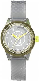 Q&Q Girls RP01J009Y Year-Round Analog Solar Powered Grey Watch
