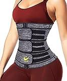 Fajas Reductoras Adelgazantes Mujer - Cinturilla Cinturon Lumbar Abdominal Reductor Abdomen para Adelgazar Waist Trainer Sauna de Sudoracion Quema Grasas