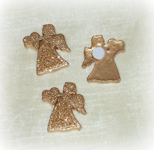 Streudeko 'Engel' aus Polyresin gold 16er-Set