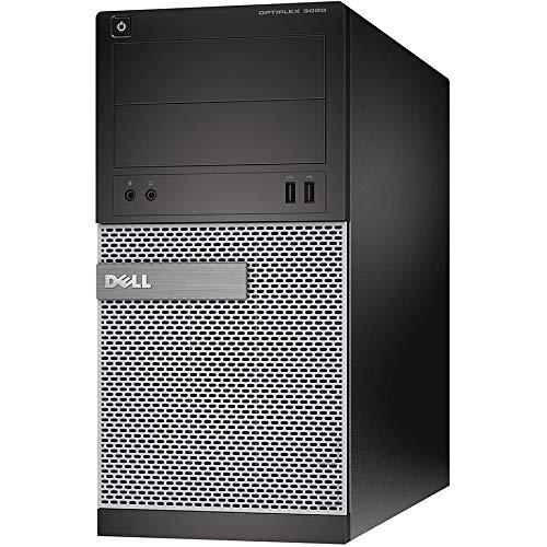 Dell OptiPlex 3020 MT   Intel Core i5-4590 – 3,3 GHz   16 GB RAM   Disco duro de 256 GB   DVD+-RW   Windows 10   (reacondicionado)