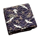 Black Temptation Style Japonais Tissus Faits à la Main Cadeaux -DIY Sac/Kimono/Couvertures Oreiller-A7