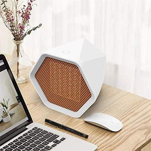 FHQCU Household Electric Heater 600W Mini Electric Heater Desktop Heating Electric Hand Office Bedroom Handheld Heater